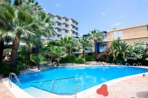 Bazén hotelu Delfin Palace