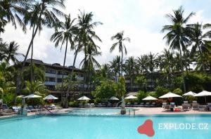 Bazén hotelu Sanur Beach