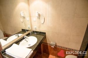 Koupelna hotelu Mediodia