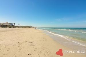 Pláž hotelu LTI Mahdia Beach