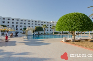 Areál hotelu Club Thapsus
