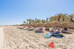 Pláž hotelu Sentido Rosa Beach