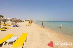 Pláž hotelu LTI Thalassa Sousse