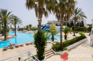 Bazén hotelu LTI Thalassa Sousse