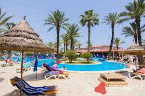 Areál hotelu Riadh Palms