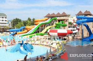 Aquapark hotelu Eftalia Splash