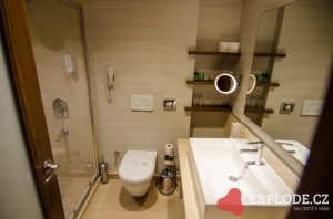 Koupelna hotelu Seher Sun Palace