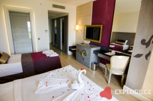 Pokoj hotelu Kirman Belazur