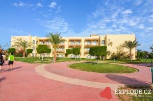 Budova Desert Rose Resort