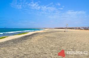 Pláž u hotelu Morabeza