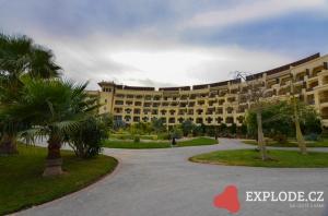 Budova hotelu Steigenberger Al Dau Beach
