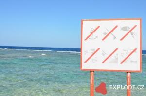 Informace na pláži