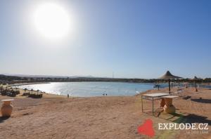 Pláž hotelu Iberotel Lamaya