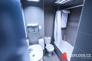 Hotelová koupelna