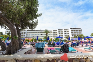Areál hotelu Family World Aqua Blue Bay